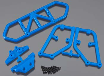 RPM Rear Bumper Blue Slash 4x4