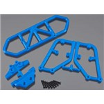 RPM Rear Bumper Blue Slash 4x4
