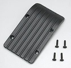 RPM Front/Rear Skid/Wear Plate Black