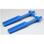 RPM Long Body Mounts Blue T/E-Maxx