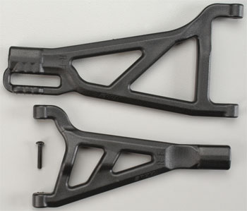 RPM Front A-Arms Right Black Revo (2)