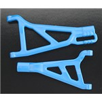 RPM Front A-Arms Right Blue Revo (2)