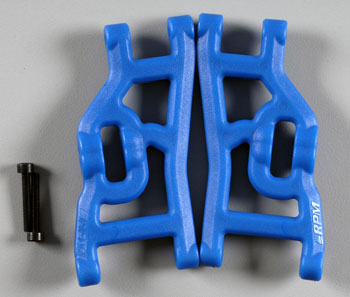 RPM Front A-Arms Blue Nitro Rustler/Stampede