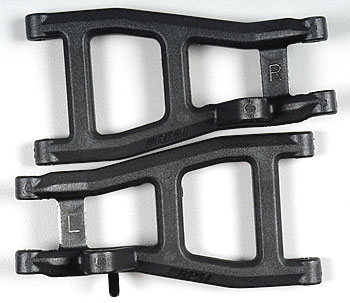 RPM Rear A-Arms Black Nitro Rustler/Stampede