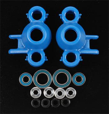 RPM Axle Carriers/Oversized Bearings Blue Revo