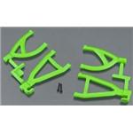 RPM Rear Upper/Lower A-Arms Green Traxxas Mini E-Revo