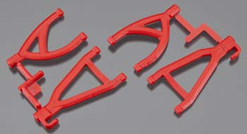 RPM Rear Upper/Lower A-Arms Red