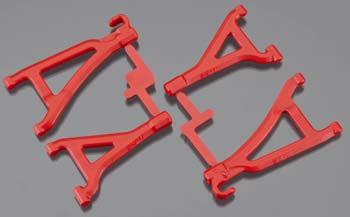 RPM Front Upper/Lower A-Arms Red