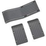 RPM Skid Plate Set T-Maxx/E-Maxx Black (3)