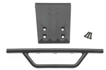 RPM Fr Bumper/Skid Blk Nitro Slash
