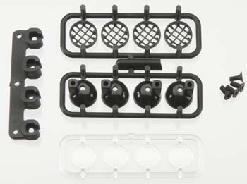 RPM Front Bumper Light Canister Set, For Rpm Front Bumper Or Traxxas