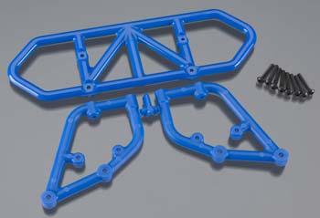 RPM Rear Bumper Blue Slash