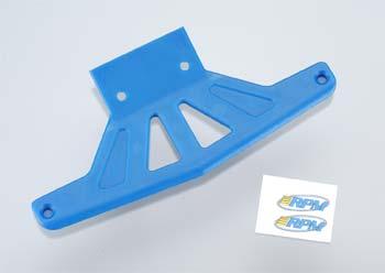 RPM Fr Bumper Wide Blue Rstlr/Stmpd