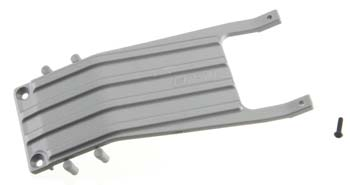 RPM Front Skid Plate, For Slash, Gray