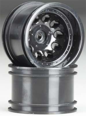 "RPM Revolver 2.2\"" Black Wide Wheelbase Wheels (2Pcs)"