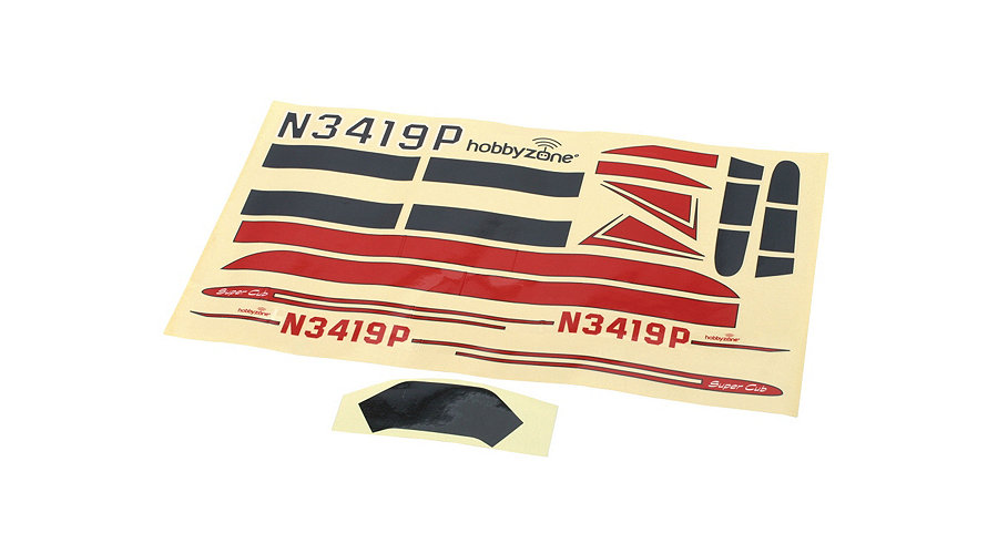 Hobby Zone Decal Sheet: Mini-Cub
