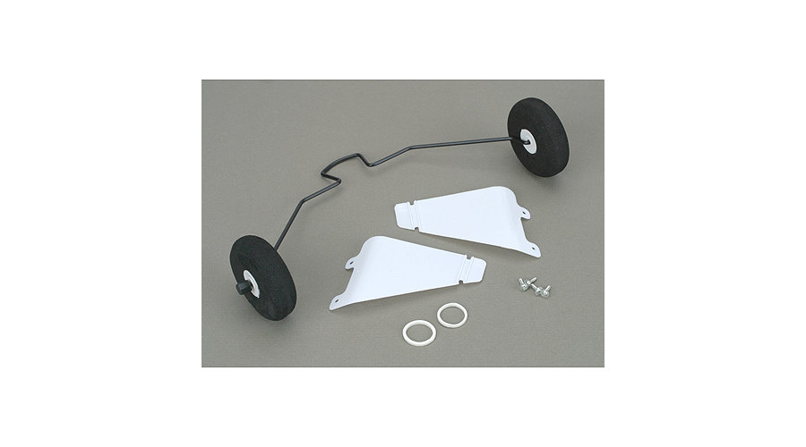 Hobby Zone Landing Gear with Tires: Cub