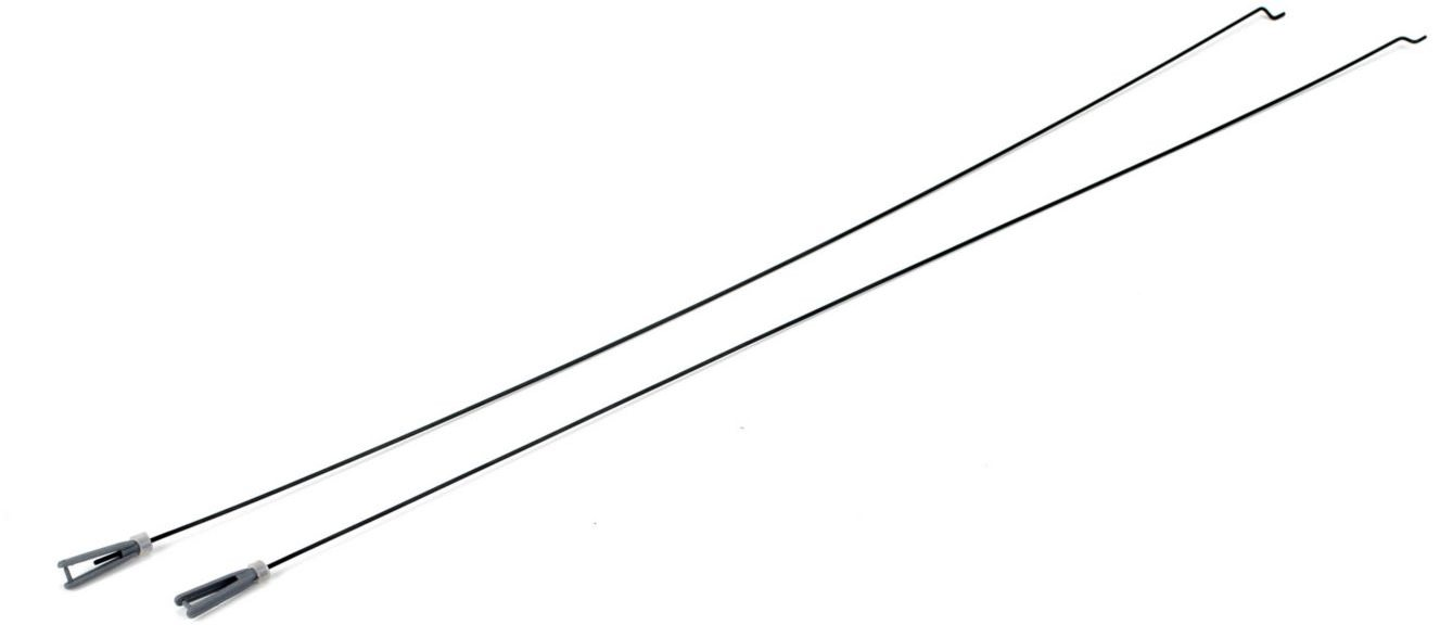 Hobby Zone Pushrods and Clevis Set (2): Cub