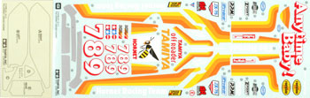 Tamiya Sticker, Decal And Masking Seal, For 58336 Hornet