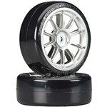 1/10 SD Drift Tech Tires/10-Spoke Whls 24mm