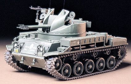 Tamiya 1/35 U.S. Army M42 Duster Tank Plastic Model Kit