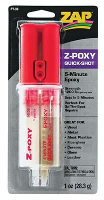 ZAP 5-Minute Epoxy Syringe