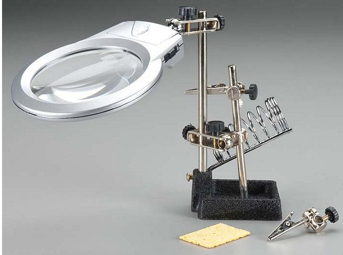 Integy Soldering Workstation Stand w/LED Light