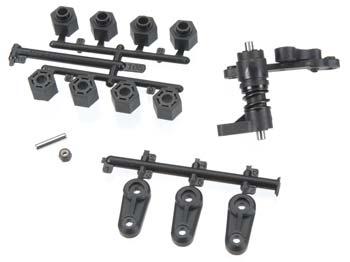 HPI Steering Arm/Servo Saver Set