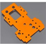Bulkhead Lower Plate 2.5mm (Orange)