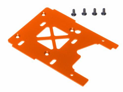 HPI Engine Plate, 2.5Mm 7075, Orange, Savage X
