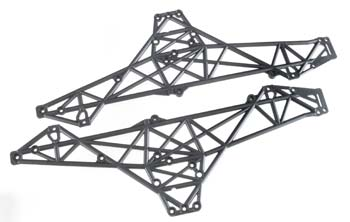HPI Main Chassis Set Black Wheely King