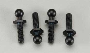 HPI Ball 4.3x20mm 4-40 Black (4)