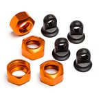Shock Caps For 101090, 101091 And 101185 Trophy Series, 4Pcs (Or
