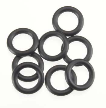 HPI O-Ring 7x11x2.0mm Black (8)