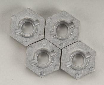 HPI Hex Wheel Hub 17mm Silver SVG X