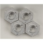 Hex Wheel Hub 17mm Silver SVG X