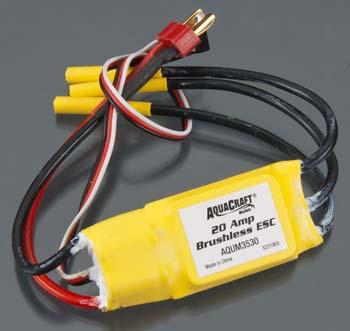 Aquacraft Models 20-Amp LiPO ESC Minimono