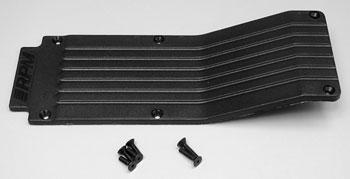 RPM Center Trans Skid/Wear Plate Black