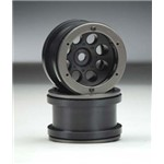 Axial 2.2 8-Hole Beadlock Black