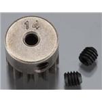 Axial Pinion Gear 32P 14T Steel 3mm Motor Shaft