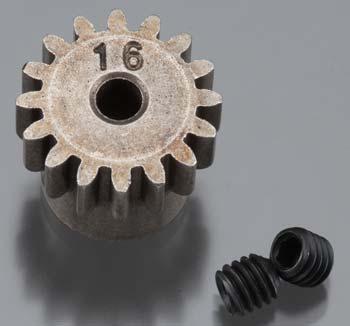 Axial Pinion Gear 32P 16T Steel 3mm Motor Shaft
