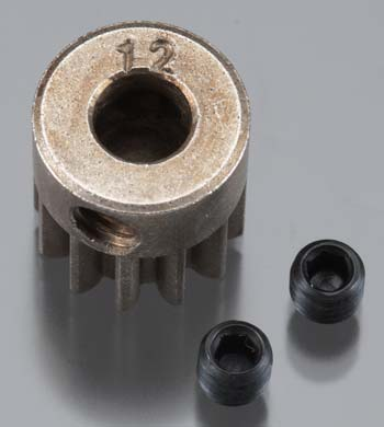 Axial Pinion Gear 32P 12T Steel 5mm Motor Shaft