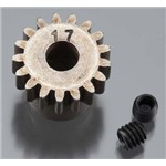 Pinion Gear 32P 17T Steel 5mm Motor Shaft