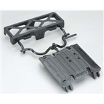Axial Tube Frame Skid Plate/Battery Tray Wraith