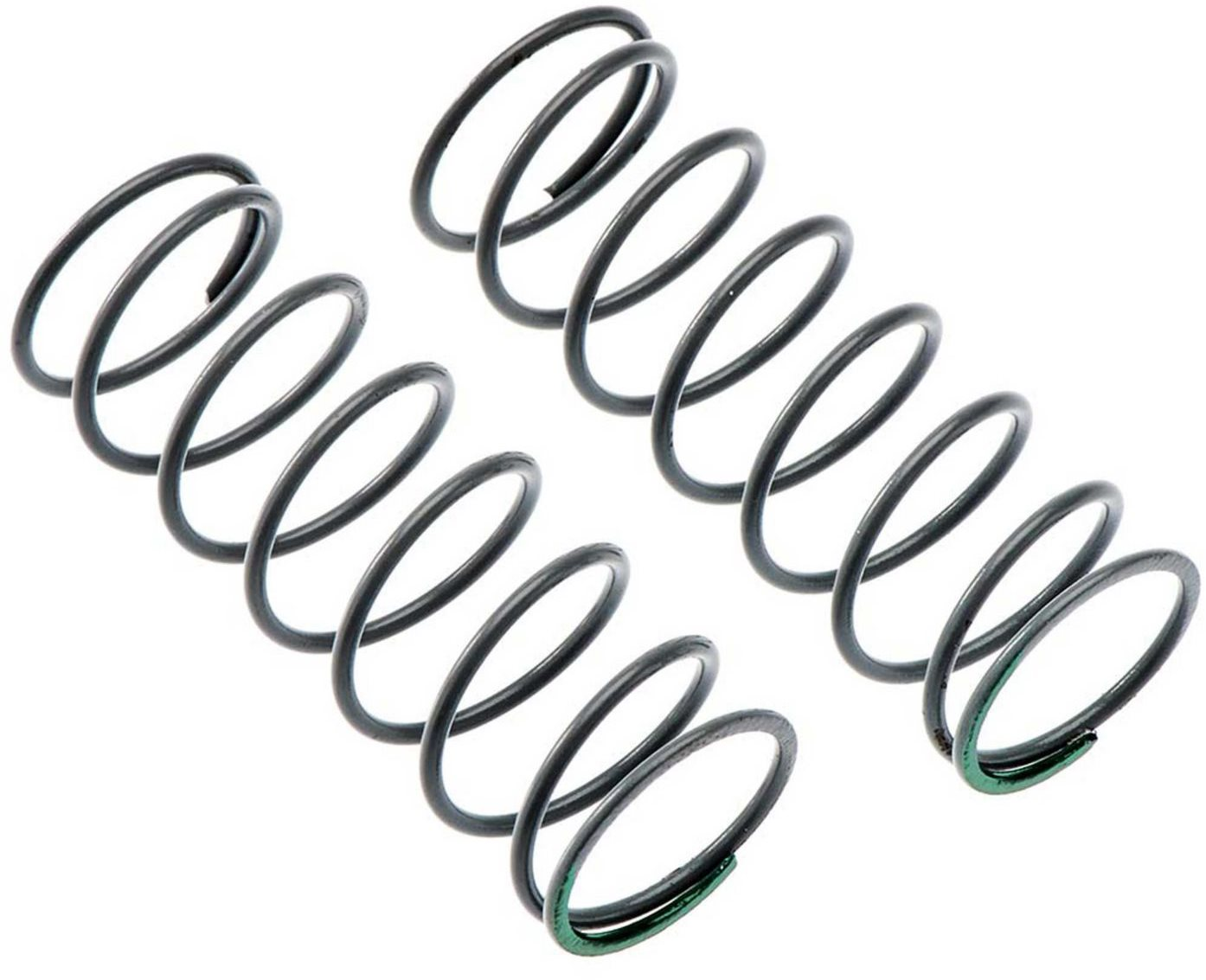 Axial Spring 12.5x40mm 4.08lbs/in Medium Green (2)