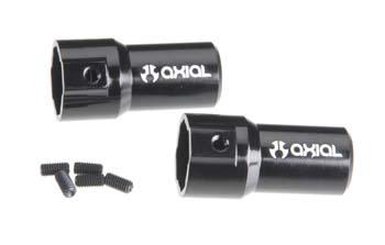 Axial Aluminum Rear Axle Lockout (2)