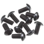 Hex Socket Button Head Black M3x6mm (10)