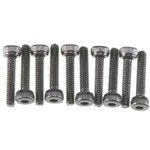 Cap Head M2x10mm Black Oxide (10)