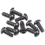 Axial Hex Socket Tapping Button Hd M2.6x6mm Blk (10)