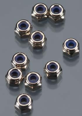 Axial Nylon Locknut 2.5 (10)